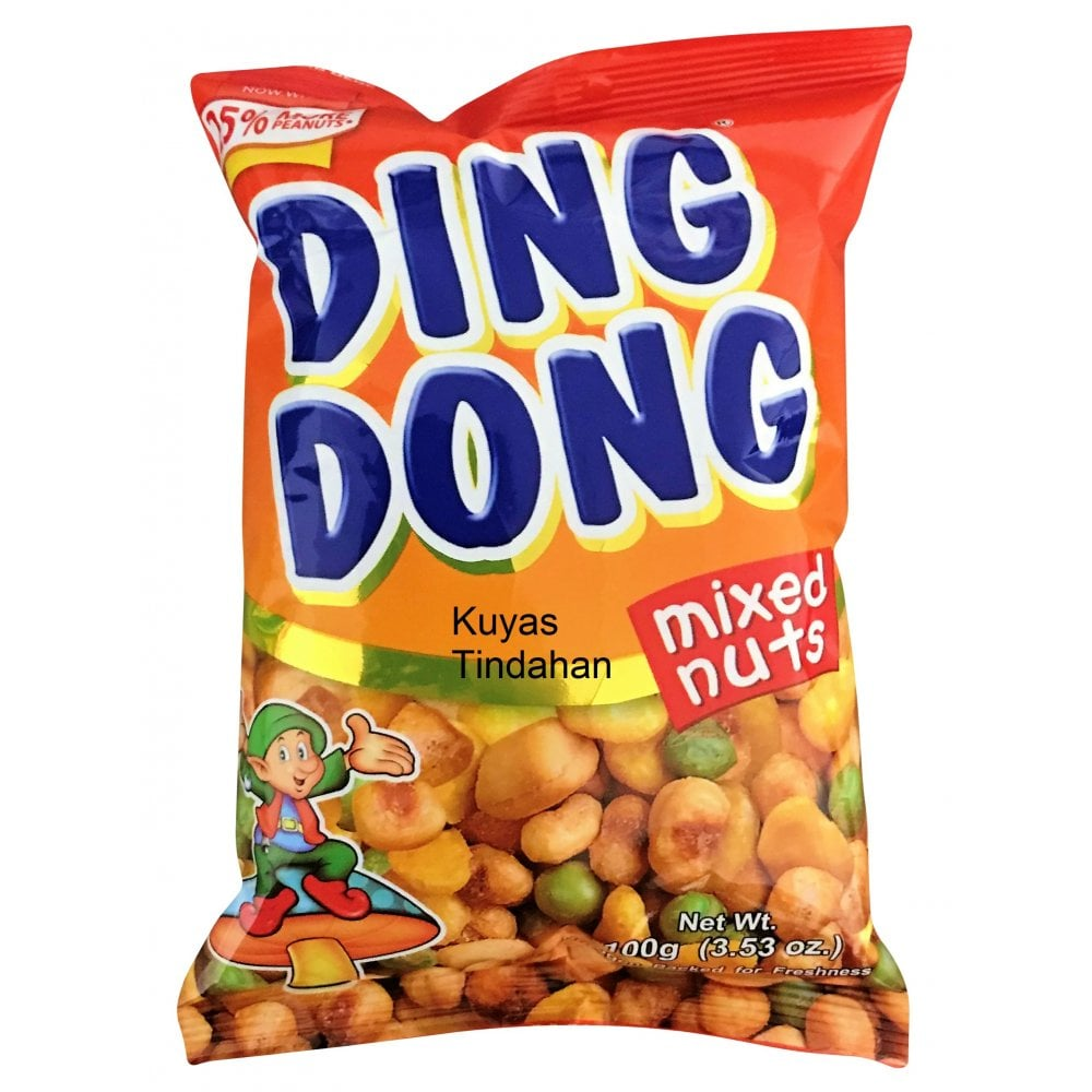 Ding Dong Mixed Nuts 100g - Grocery from Kuyas Tindahan UK