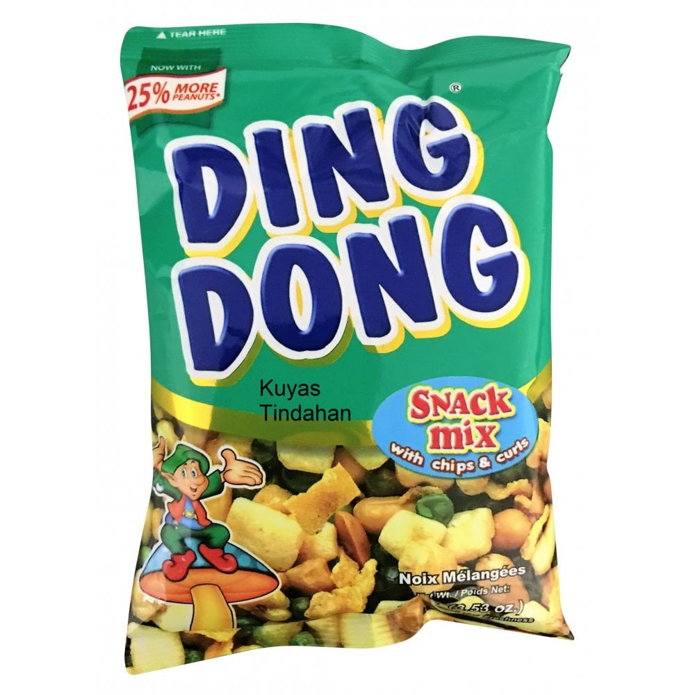 Ding Dong Snack Mix 100g - Grocery from Kuyas Tindahan UK