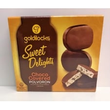 Goldilocks Polvoron 240g - Choco Covered