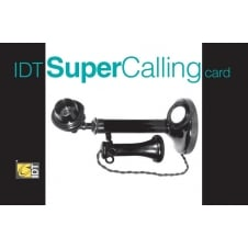 IDT SuperCalling International Phone Card