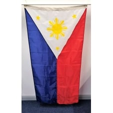 Philippine Flag Nylon 2ft x 4ft