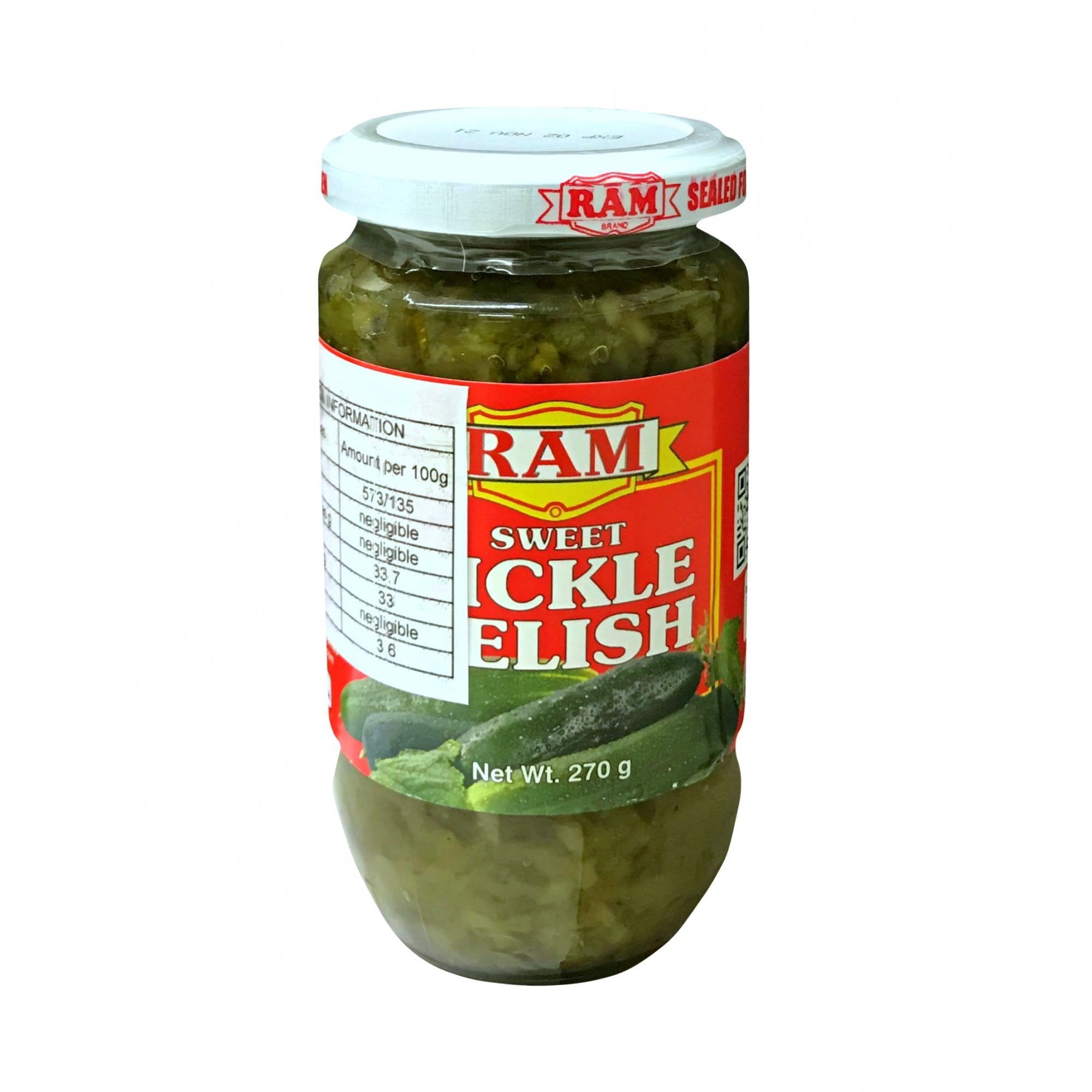 Ram Sweet Pickle Relish 270g Grocery From Kuyas Tindahan Uk
