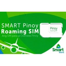 Smart Pinoy Roaming Sim with P300 Load