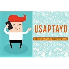 Usap Tayo £10 Phone Card - 1/2 Price Offer